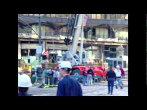 Tribute to to 911 Recovery workers at Ground Zero