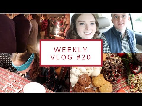 Traveling to Maryland + Celebrating Christmas | Weekly Vlog #20 - Vlogmas 2017 | Dec. 21-25, 2017