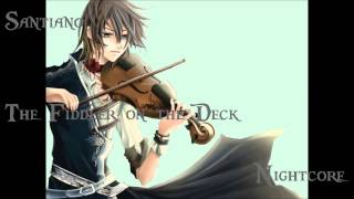 Santiano - The Fiddler on the Deck (Nightcore)