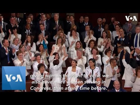 State of the Union: Ocasio-Cortez, Pelosi & Other Female Democrats Cheer Trump Working Women Remark Mp3