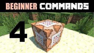 Beginner Command Block Tutorial Part 4   Relative Coordinates