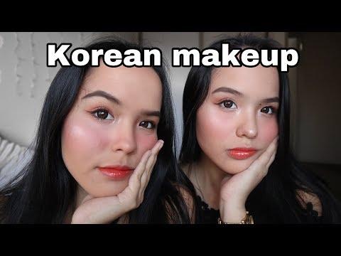 Coba Make-up Korea di Wajah Bule