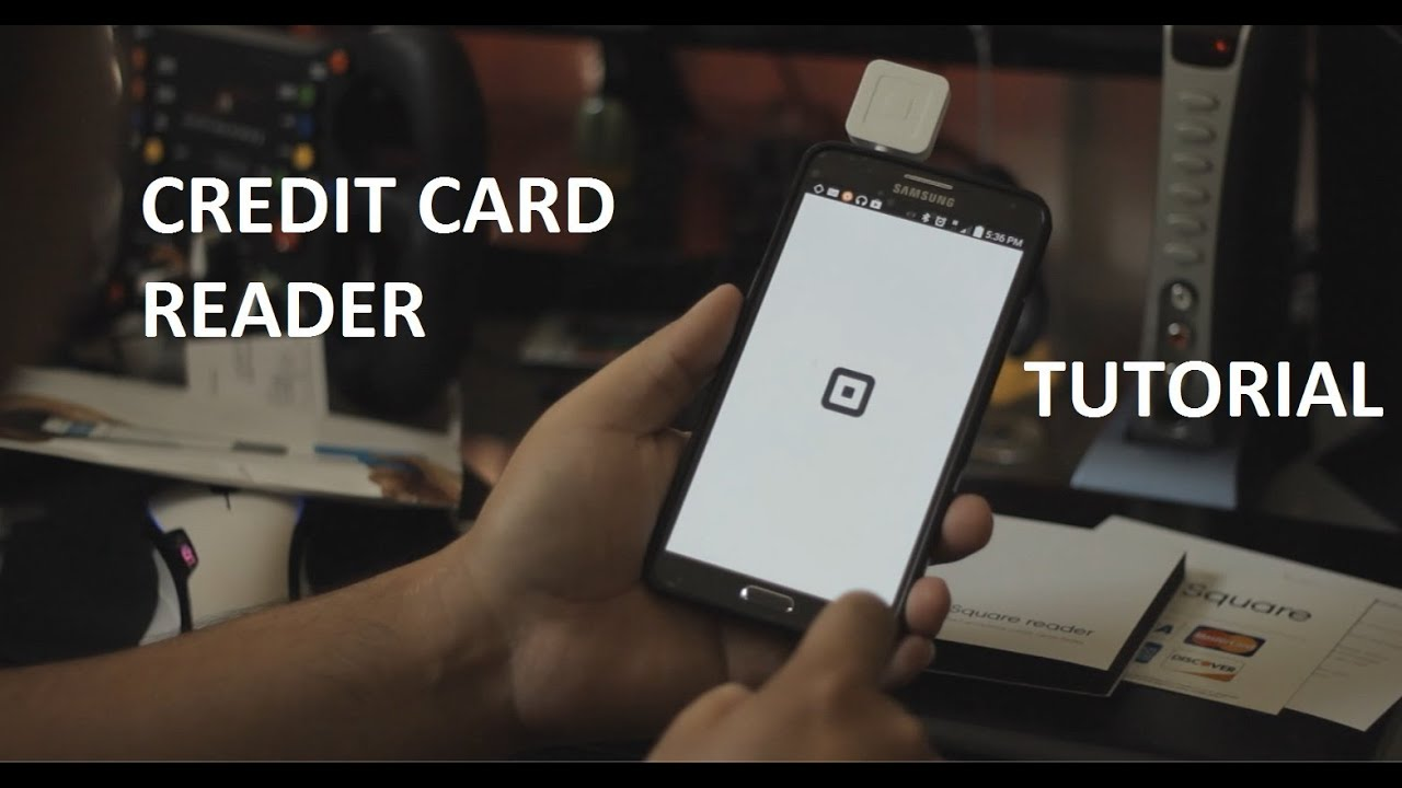 how to use the square credit card reader with your phone get it for free youtube. Black Bedroom Furniture Sets. Home Design Ideas