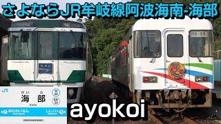 さよならJR四国牟岐線 阿波海南-海部