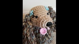 Crochet Cocker Spaniel Puppy Dog Amigurumi Diy Tutorial