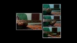 Jaise Mera Tu   Happy Ending   Guitar Cover with Chords Leads