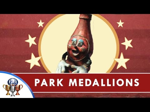 Fallout 4 Nuka World DLC - All Park Medallions for Precious Medals Quest