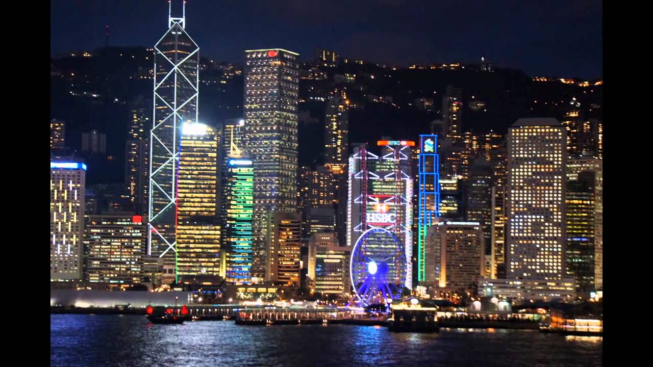 Hong Kong City Night Images Diagram Writing Sample Ideas