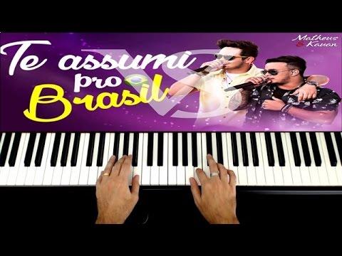 Matheus e Kauan - Te Assumi Pro Brasil Piano e Teclado -