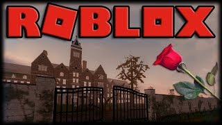 Playing Roblox-ROSES-the most beautiful horror game of Roblox!!