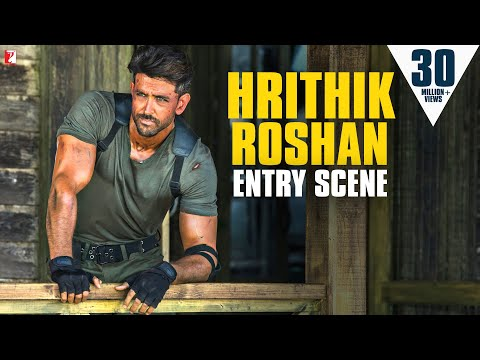 Hrithik Roshan - Entry Scene | War | Tiger Shroff