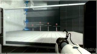 Portal 2 Gameplay - Repulsion Gel