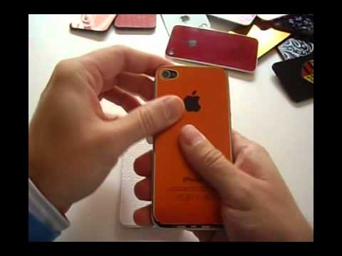 0c9387d88cf Cambiar tapa trasera iPhone 4 (Metal, leather and cristal) - YouTube