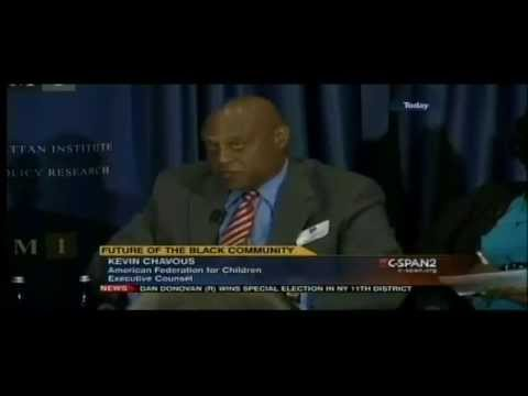 "Kevin P. Chavous speaks at the Manhattan Institute's forum, ""The Moynihan Report Turns 50"""