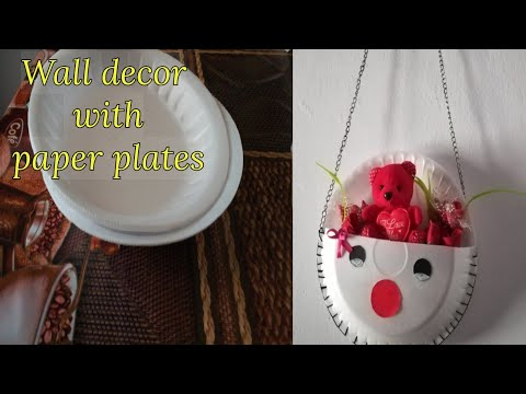 DIY Simple wall decor with paper plates