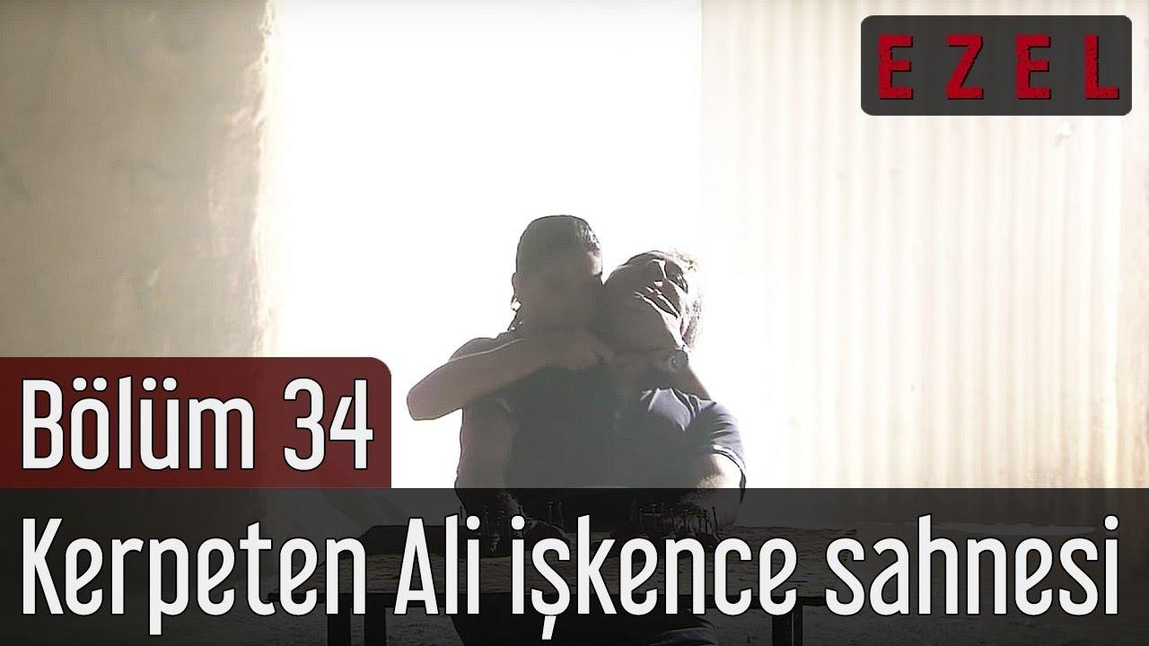 Ezel 34.Bölüm Kerpeten Ali İşkence Sahnesi