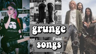 grunge songs📼