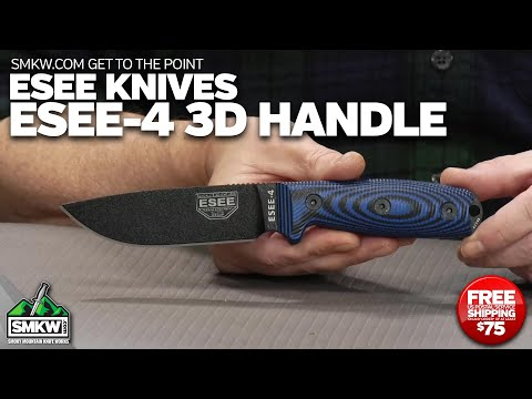 SMKW Get to the Point: ESEE 4 Black Blade 3D Handle