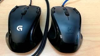 Logitech g300 vs g300s comparison