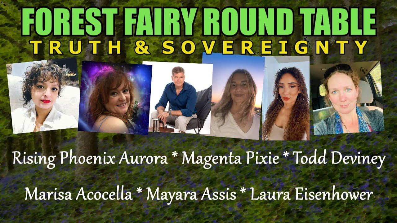 Forest Fairy Round Table (Truth and Sovereignty)