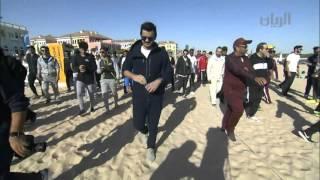سعادة الشيخ جوعان بن حمد آل ثاني خلال مشاركته في اليوم الرياضي