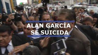 El expresidente peruano Alan García se suicida