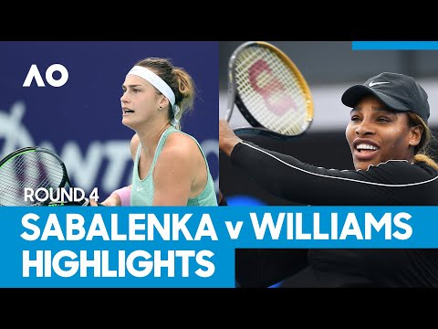 Aryna Sabalenka vs Serena Williams Match Highlights (4R) | Australian Open 2021