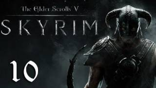 "Skyrim Walkthrough - Part 10 ""DRAGON!!!"" (Let's Play, Playthrough)"