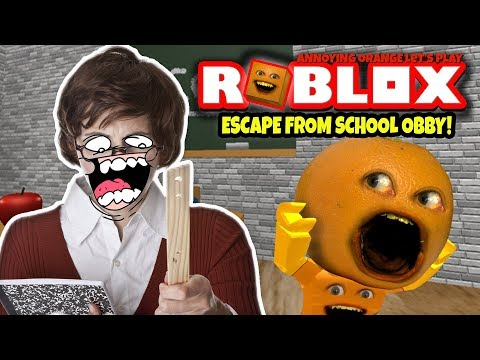Roblox: Escape from School Obby! [Annoying Orange Plays]