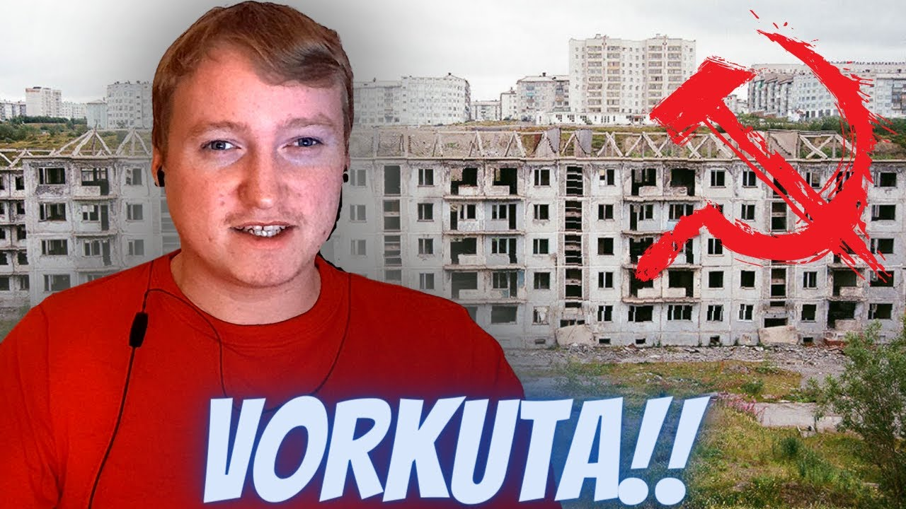 A Day In Russia's Most Depressing Town   Vorkuta 🇷🇺 - Reaction!!