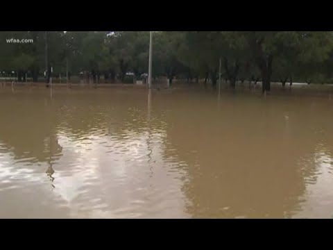 Home and streets swamped in Tarrant County