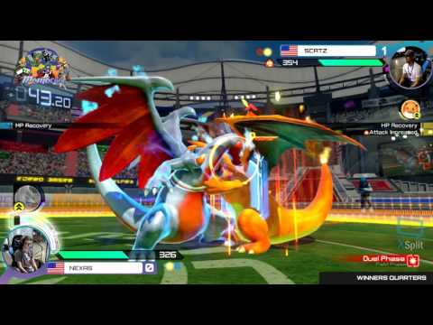 Momocon 2017: Scatz vs Nexas - Winners Quarters - Pokken