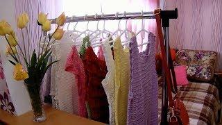 Мои летние вязаные вещи. Платья, сарафаны, туники.