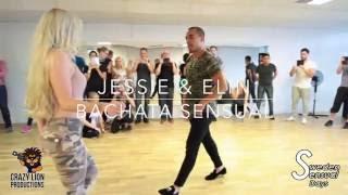 Jessie & Elin - Bachata Sensual demo @Sweden Sensual Days