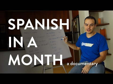 Spanish In Month