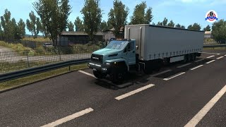 Euro Truck Simulator 2 - Ural Next Update (with Cargo Chassis) 1.5
