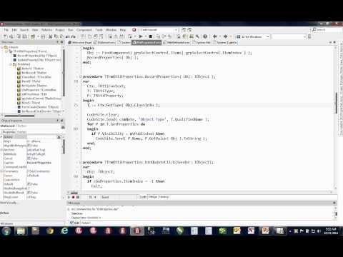 Advanced RTTI in Object Pascal