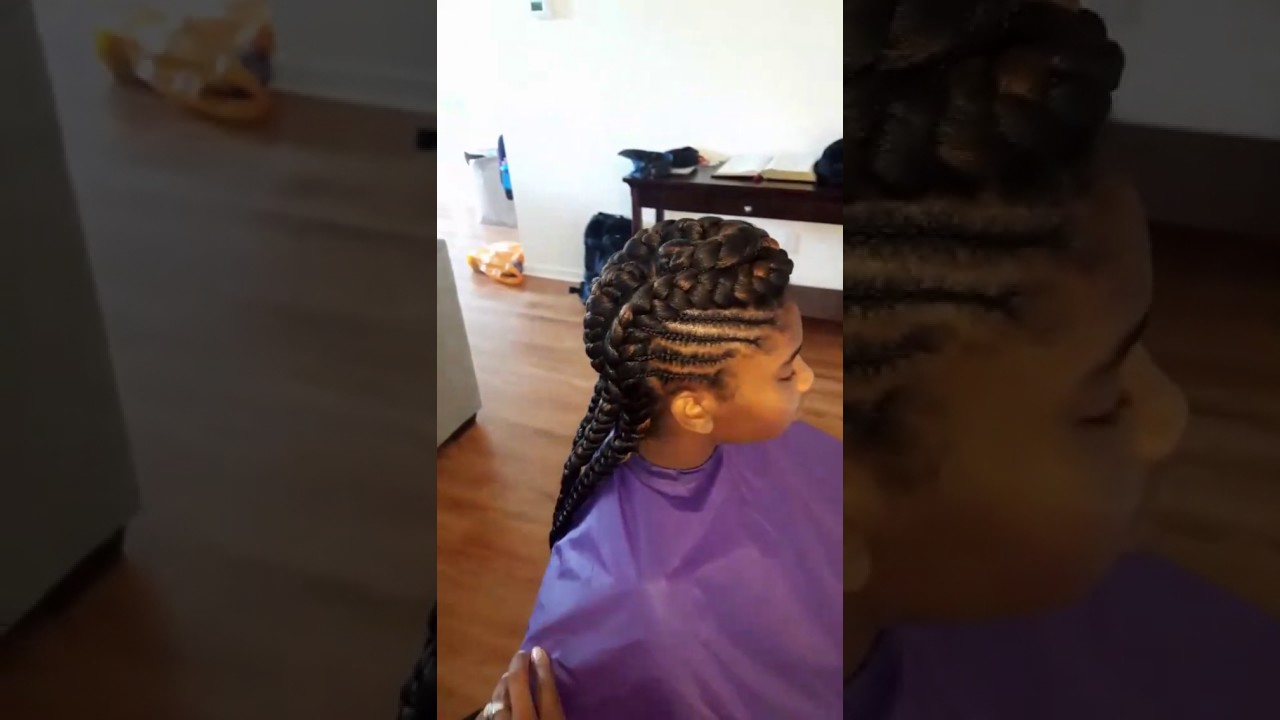 Cardi B Inspired Goddess Braids YouTube