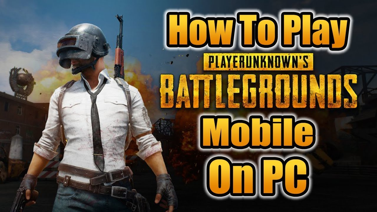 How To Play Pubg Mobile On Pc With Mouse And Keyboard Youtube