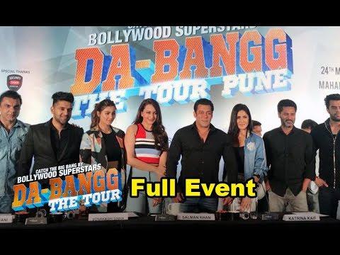 Da Bangg Tour Pune 2018 - Salman Khan, Katrina Kaif, Guru Randhawa - Full Event