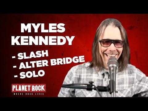 "Myles Kennedy ""He's a riff-master, he's Slash!"""