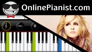 Bridgit Mendler - Ready Or Not - Piano Tutorial (Easy) & Sheets