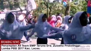 BIKIN MERINDING: Gerak Jalan Sekolah Taruna Dra. Zulaeha Probolinggo