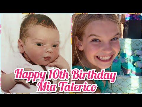 Happy 10th Birthday Mia Talerico