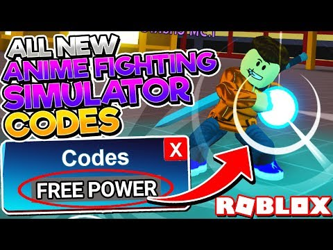 ALL *SECRET POWER* CODES In ANIME FIGHTING SIMULATOR! (Roblox BEST CODES)