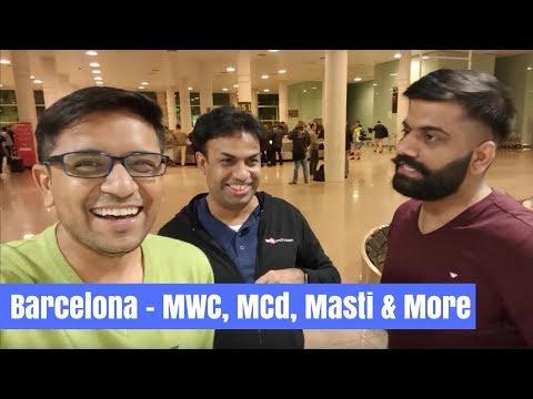 TripRazer Barcelona Vlog Day 1 - The Fun Journey Begins