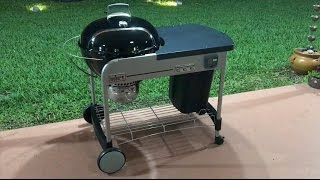 Weber 15501001 Performer Deluxe Charcoal Grill, 22-Inch, Black Review
