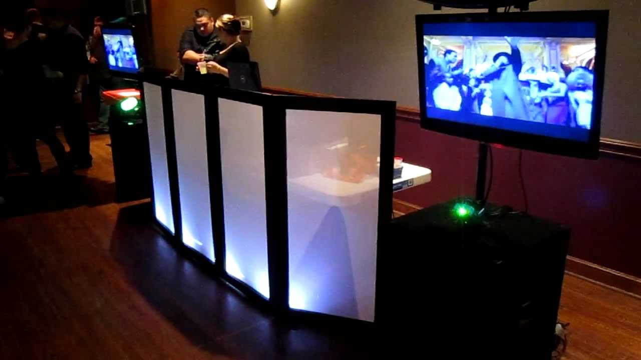 Diy Dj Facade L E D Part 4 Setup Weddings Private Parties Corporate