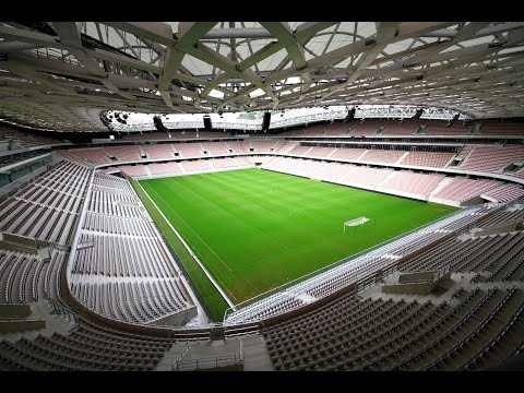 Stade de Nice (Allianz Riviera) EURO 2016 Stadium Tour - Unravel Travel TV