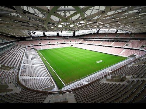 Allianz Riviera Stadium Tour (Stade de Nice EURO 2016) - Unravel Travel TV